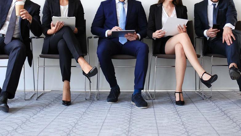 Job interview candidates