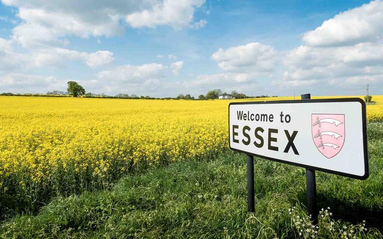 Welcome to essex road sign